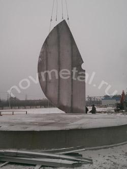 сегмент крыши вертикального резервуара